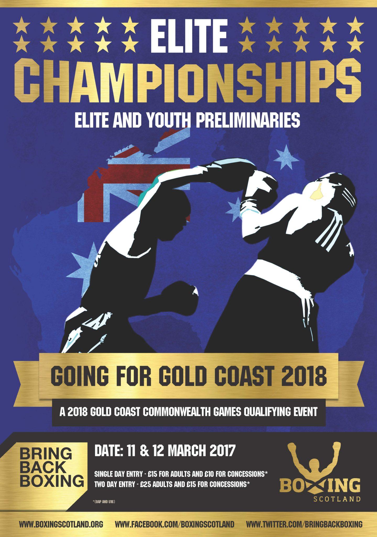 2017 Boxing Scotland Elite & Youth Championships Prelims