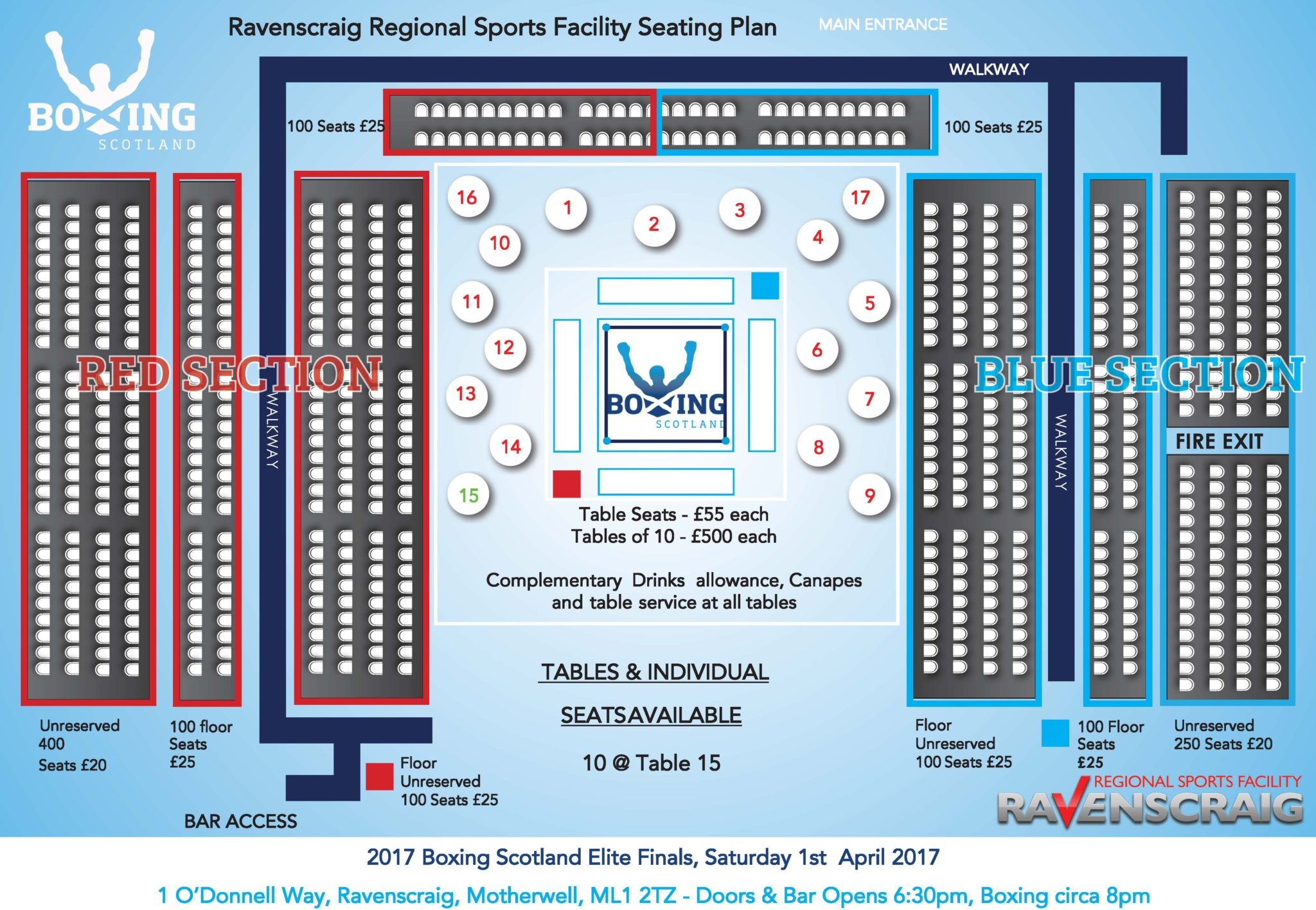 2017 Elite Finals – Ticket update