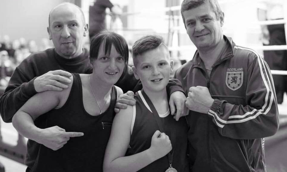 James White – Cardenden Boxing Club Coach