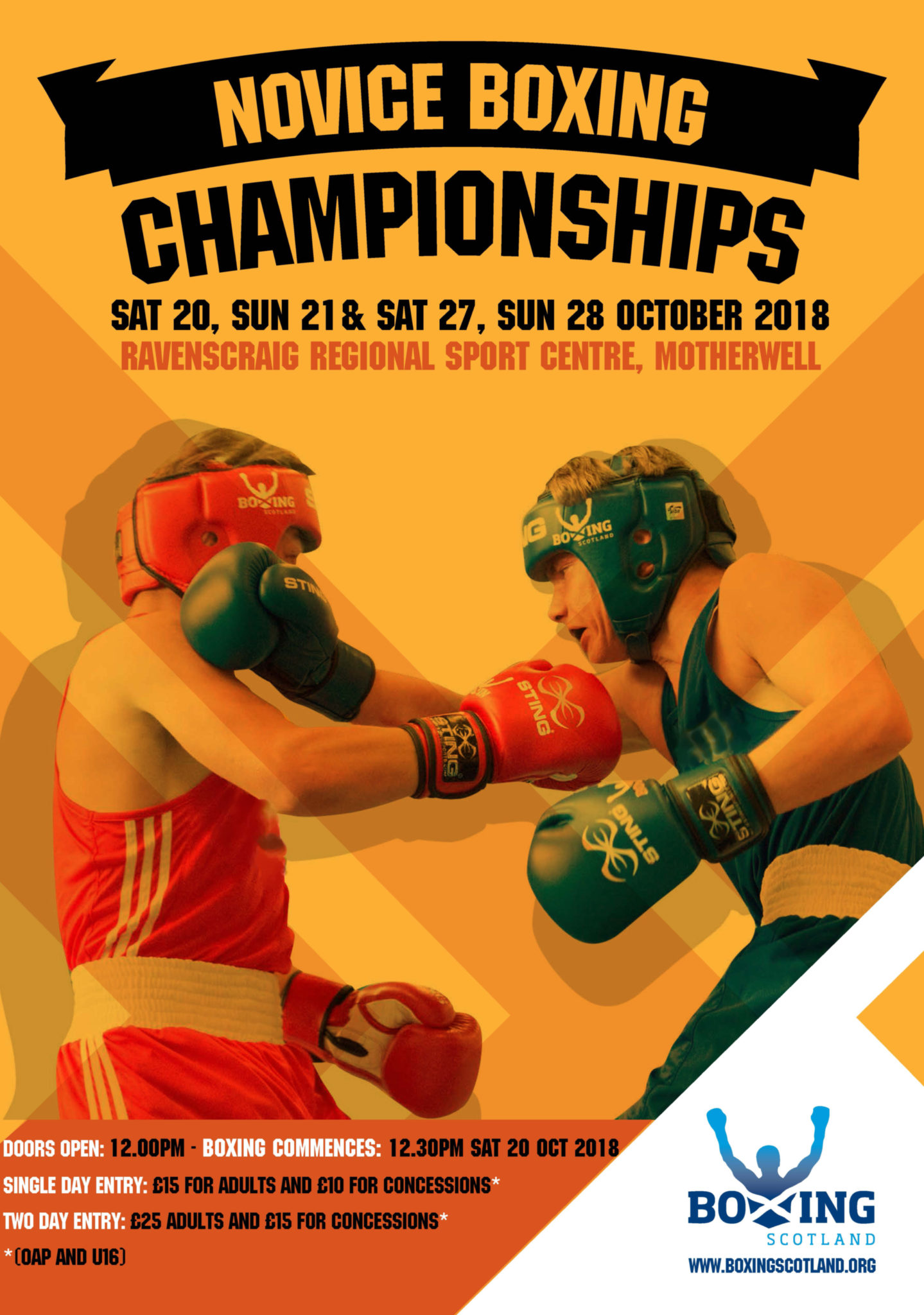Amateur boxing scotland