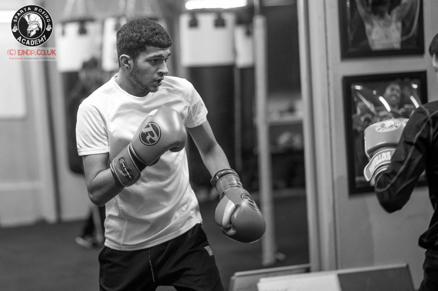 Balaal Waheed completes his modern apprenticeship with Sparta Boxing Academy and Falkirk Council's Employment and Training Unit.