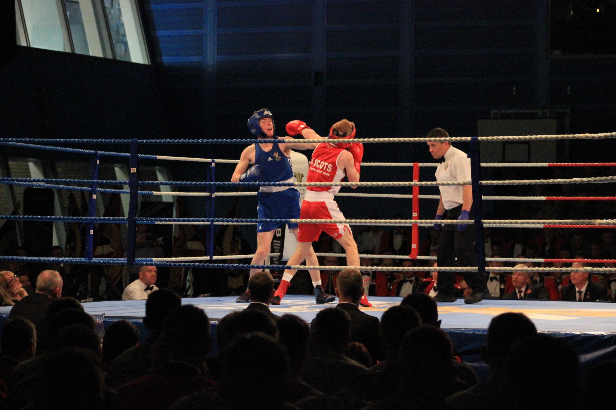 The Royal Regiment of Scotland (SCOTS) Boxing Night – 08 November 2018